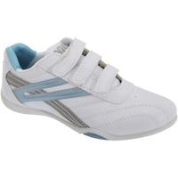 Schuhe Damen Sneaker Low Dek Raven Weiß/Hellblau