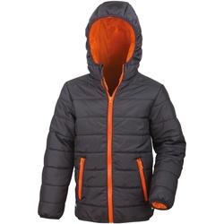 Kleidung Kinder Daunenjacken Result R233JY Schwarz/Orange