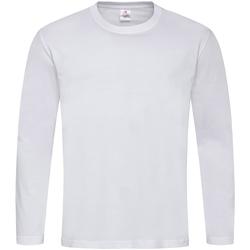 Kleidung Herren Langarmshirts Stedman  Weiß