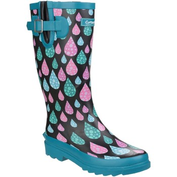 Schuhe Damen Gummistiefel Cotswold Burghley Regentropfen