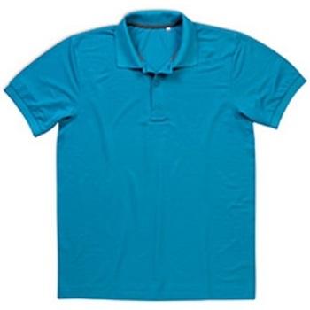 Kleidung Herren Polohemden Stedman  Hawaii Blau