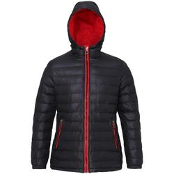 Kleidung Damen Daunenjacken 2786 TS16F Schwarz/Rot