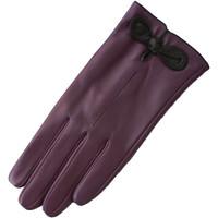 Accessoires Damen Handschuhe Eastern Counties Leather  Lila/Schwarz
