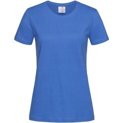 Kleidung Damen T-Shirts Stedman  Helles Königsblau