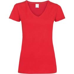 Kleidung Damen T-Shirts Universal Textiles Value Hellrot
