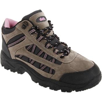 Schuhe Damen Wanderschuhe Dek Grassmere Grau/Pink