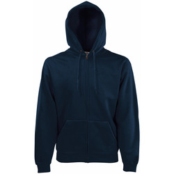 Kleidung Herren Sweatshirts Fruit Of The Loom 62034 Dunkles Marineblau