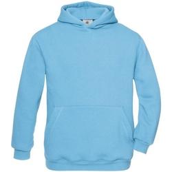 Kleidung Kinder Sweatshirts B And C WK681 Türkis