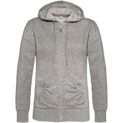 Kleidung Damen Sweatshirts B And C WW641 Grau meliert