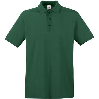 Kleidung Herren Polohemden Fruit Of The Loom 63218 Flaschengrün