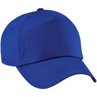 Accessoires Schirmmütze Beechfield B10 Königsblau