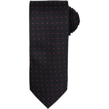 Kleidung Herren Krawatte und Accessoires Premier Dot Pattern Schwarz / Rot