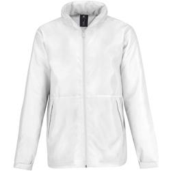 Kleidung Herren Fleecepullover B And C JM825 Weiß/Weiß