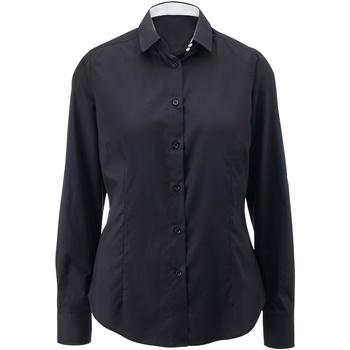 Kleidung Damen Hemden Alexandra AX060 Schwarz/#Weiß