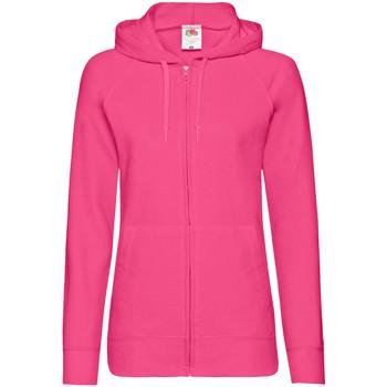 Kleidung Damen Sweatshirts Fruit Of The Loom 62150 Fuchsia