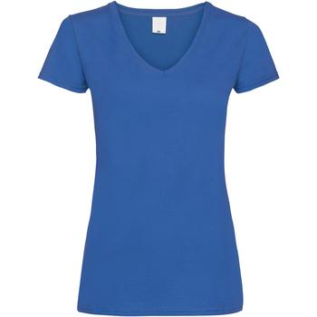 Kleidung Damen T-Shirts Universal Textiles Value Kobalt
