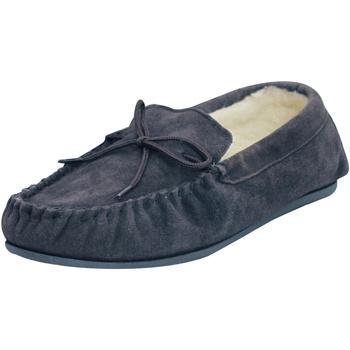 Schuhe Hausschuhe Eastern Counties Leather  Dunkelblau