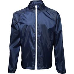 Kleidung Herren Windjacken 2786  Marineblau/Weiß