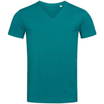 Kleidung Herren T-Shirts Stedman Stars  Ozeanblau