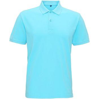 Kleidung Herren Polohemden Asquith & Fox AQ017 Heller Ozean