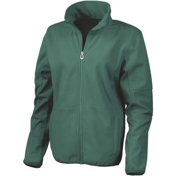 Kleidung Damen Trainingsjacken Result R131F Tannengrün