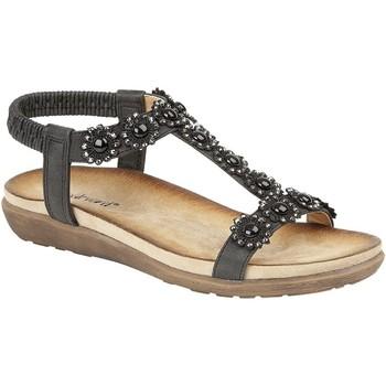 Schuhe Damen Sandalen / Sandaletten Cipriata Giovanna Schwarz
