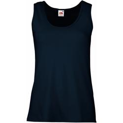 Kleidung Damen Tops Fruit Of The Loom 61376 Dunkelblau