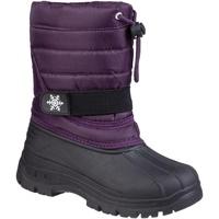 Schuhe Kinder Schneestiefel Cotswold Icicle Violett