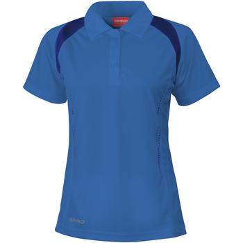 Kleidung Damen Polohemden Spiro S177F Königsblau/Marineblau