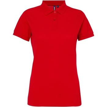 Kleidung Damen Polohemden Asquith & Fox AQ025 Kirschrot