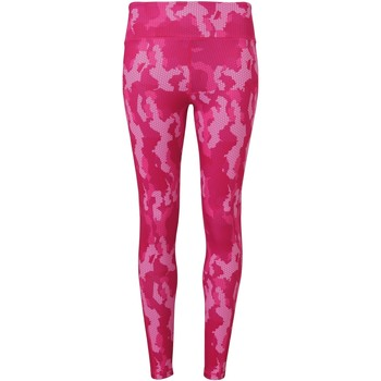 Kleidung Damen Leggings Tridri TR032 Camo Hot Pink