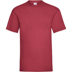 Kleidung Herren T-Shirts Universal Textiles 61036 Dunkelrot