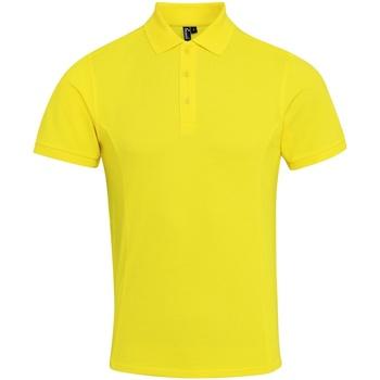 Kleidung Herren Polohemden Premier PR630 Gelb