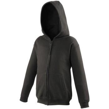 Kleidung Kinder Sweatshirts Awdis JH50J Schwarz