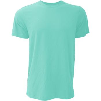 Kleidung Herren T-Shirts Bella + Canvas CA3001 Türkis