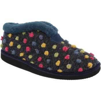 Schuhe Damen Hausschuhe Sleepers Tilly Blau/Bunt
