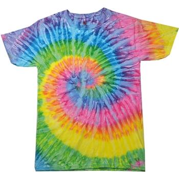 Kleidung Damen T-Shirts Colortone Rainbow Saturn