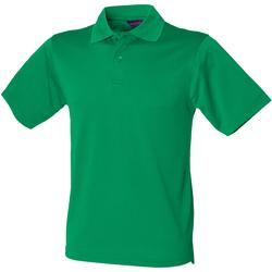 Kleidung Herren Polohemden Henbury HB475 Kelly Grün
