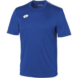 Kleidung Kinder T-Shirts Lotto LT26B Königsblau/Weiß