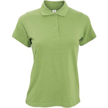 Kleidung Damen Polohemden B And C PW455 Pistazie