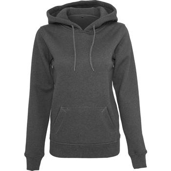 Kleidung Damen Sweatshirts Build Your Brand BY026 Anthrazit