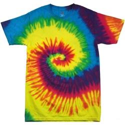 Kleidung Kinder T-Shirts Colortone TD02B Regenbogen