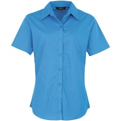 Kleidung Damen Hemden Premier PR302 Saphir