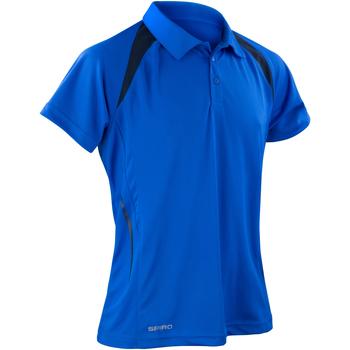 Kleidung Herren Polohemden Spiro S177M Königsblau/Marineblau