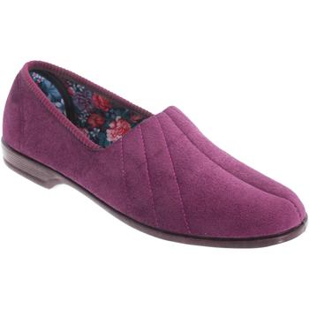 Schuhe Damen Hausschuhe Sleepers Audrey Pflaume/Heidekraut
