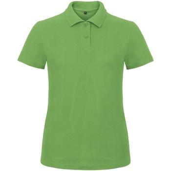 Kleidung Damen Polohemden B And C ID.001 Grün
