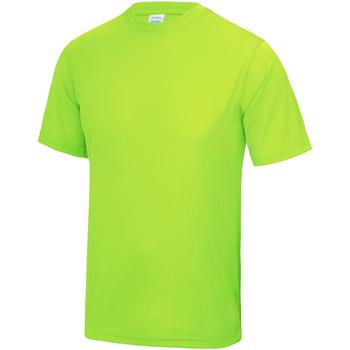 Kleidung Kinder T-Shirts Awdis JC01J Leuchtgrün