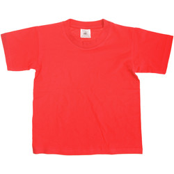 Kleidung Kinder T-Shirts B And C TK300 Rot
