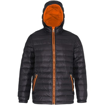 Kleidung Herren Daunenjacken 2786 TS016 Schwarz/Orange