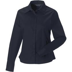 Kleidung Damen Hemden Russell J916F Marineblau